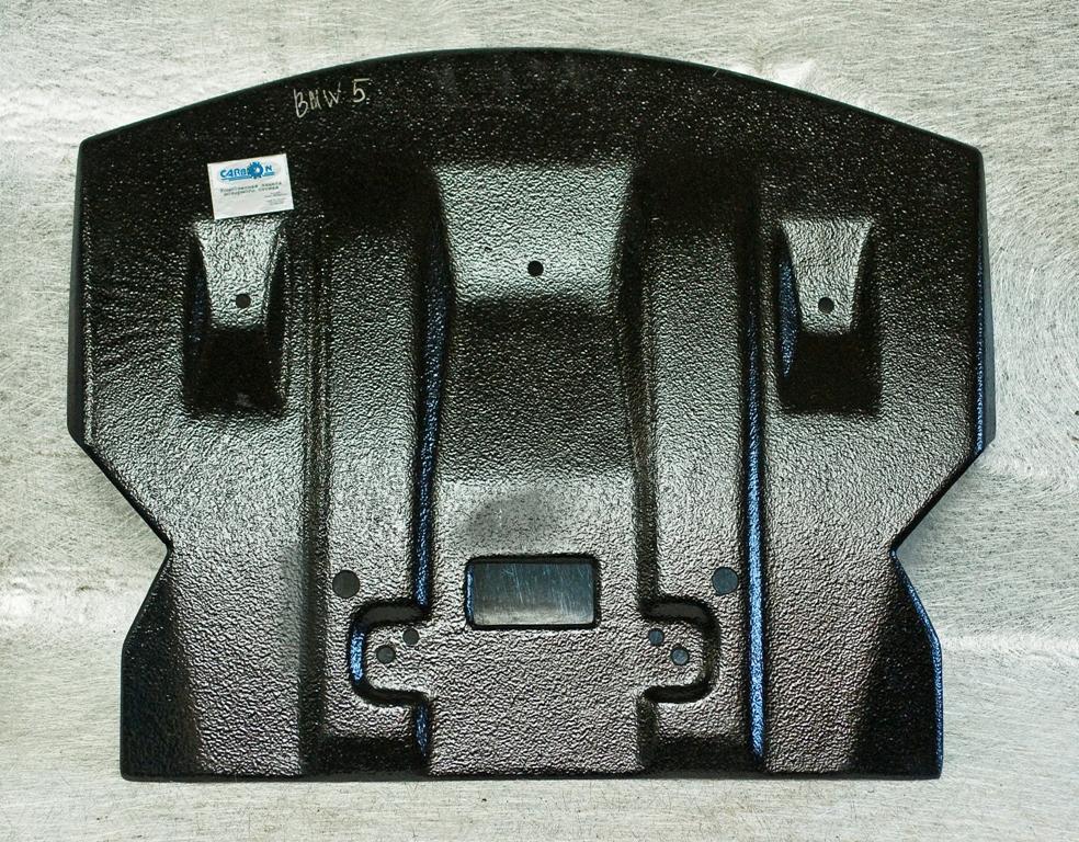 Наша компания выпускает защиты для картера на автомобили BMW 5-series выпуска 2003-2010 годов.