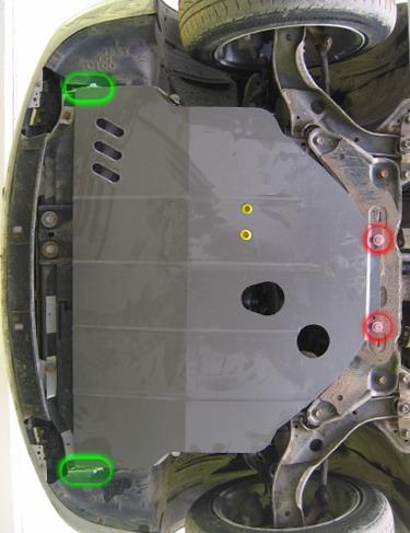Защита двигателя своими руками мазда премаси 100